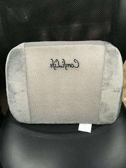 ComfiLife Lumbar Support Back Pillow, Gray