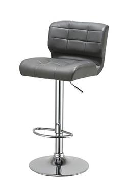 Duhome Luxury Synthetic Leather Modern Swivel Bar Stool Coun