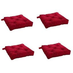 Ikea Malinda Chair Cushion, Chair Pad, Red Set of 4