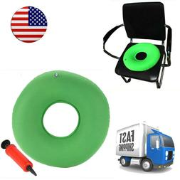 Medical Inflatable Donut Round Seat Cushion Ring Pressure So