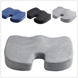memory foam car seat office chair cushion