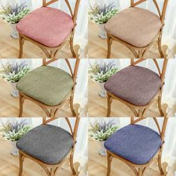 Memory Foam Chair Cushion Seat Pad Soft Tie On Dining Office