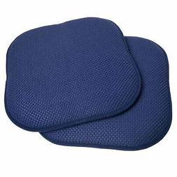 Memory Foam Chair Pad/Seat Cushion with Non-Slip Backing Nav