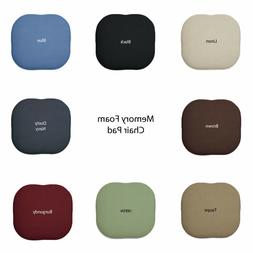 Memory Foam Chair/seat Cushion Pad : Non Slip