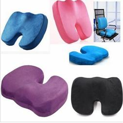 Memory Foam Coccyx Orthopedic Cushion Office Chair Seat Pain