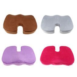 Memory Foam Cool Gel Orthopedic Coccyx Seat Cushion Tailbone