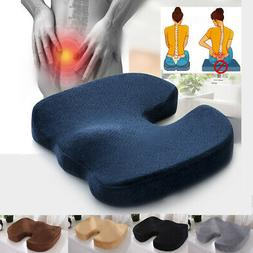 Memory Foam Cushion Coccyx Orthopedic Pain Relief For Office