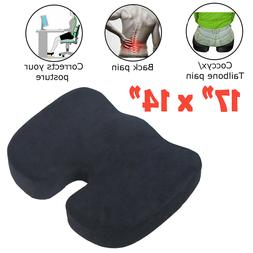 Memory Foam Cushion Pillow for Office Chair Car Seat Back Pa
