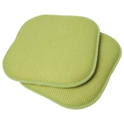 Sweet Home Collection Memory Foam Honeycomb Nonslip Back Cha