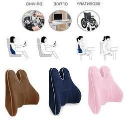 Memory Foam Lumbar Pain Relief Chair Pillow Back Orthopedic