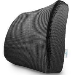 Memory Foam Lumbar Support Pillow Seat Cushion for Office Ch