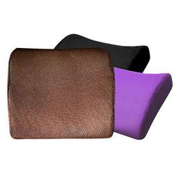 Memory Foam Seat Chair Lumbar Back Support Cushion Pillow Fo