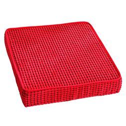 HyFanStr Memory Foam Seat Cushion Nonslip Chair Cushions Squ