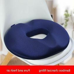 Memory Sponge Foam Ring Cushion Car Seat Donut Support Trave