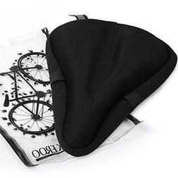 Most Comfortable Exercise Bike Seat Cushion Soft Gel Pad - U