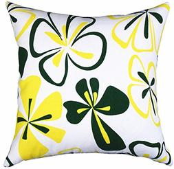 Multi-sized Both Sides Sketch Floral Printed Cushion Cover L