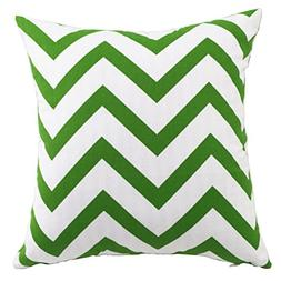 Multi-size Both Sides Wavy Stripes Print Stuffed Bed Throw P
