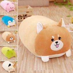 New Lying Pig Kitten Animal Plush Stuffed Toy Cushion Huggab
