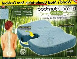 New Miracle Bamboo Seat Cushion Orthopedic Design As Seen on