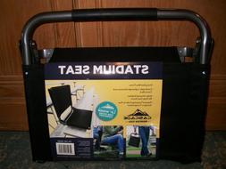 NEW CASCADE Mountain Tech STADIUM SEAT Black WIDE