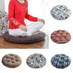 Home Thickened Seat Round Pillow Floor Yoga Chair Seat Mat T