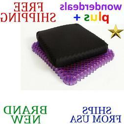 *New* WONDERGEL Royal Purple No Pressure SEAT CUSHION Black/