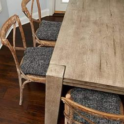 Non Slip Chair Cushions, Set of 4, Kitchen/Dining Chair Pad,