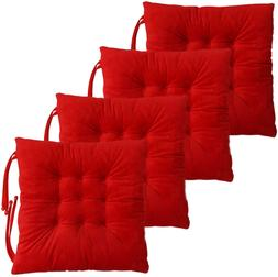 Non Slip Chair Pads Seat Cushions Cover with Ties for Dining