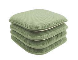 GoodGram 4 Pack Non Slip Honeycomb Premium Comfort Memory Fo