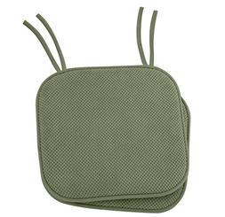 Ellington Home Non Slip Memory Foam Seat Cushion Chair Pads