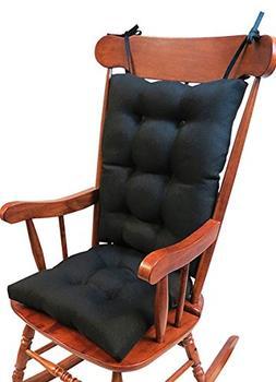 The Gripper Non-Slip Omega Jumbo Rocking Chair Cushions, Mid