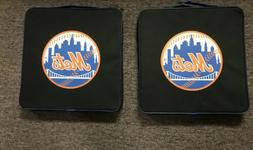 NY METS  Logo Seat Cushion w/ Handle/pocket 14 X 14