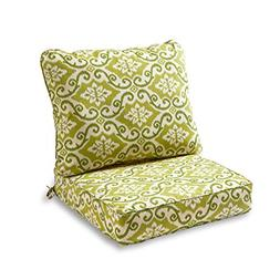 Greendale Home Fashions Deep Seat Cushion Set, Shoreham