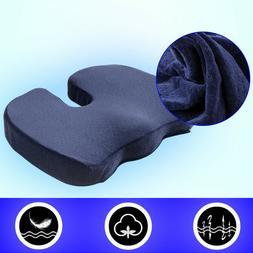 Office Chair Coccyx Cushion Seat Gel Memory Foam Pad Car Pil