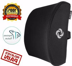 office chair lumbar support pillow memory foam