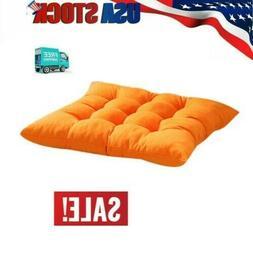orange seat cushion pads indoor outdoor garden
