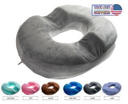 Orthopedic Donut Seat Cushion Memory Foam Cushion Tailbone C