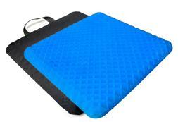 Tektrum Orthopedic Elastic Non-liquid Gel Seat Cushion with