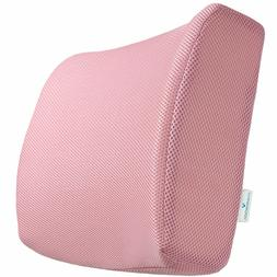 Orthopedic Memory Foam Lumbar Back Support Seat Cushion Offi