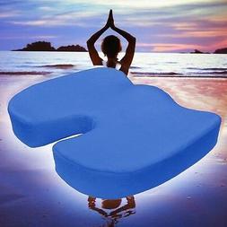 Orthopedic Office Chair Memory Foam Cushion Seat Car Coccyx