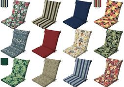 outdoor cushion seat pad set patio high