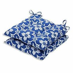 Pillow Perfect Outdoor/Indoor Aspidoras Wrought Iron Seat Cu