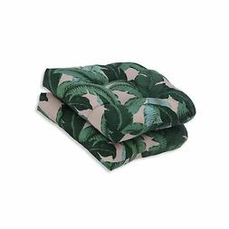 Pillow Perfect Outdoor | Indoor Swaying Palms Capri Wicker S