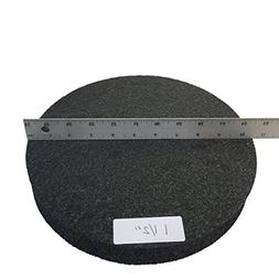 "Bucket Lid Pad 10 1/2"" x 1 1/2"" High Quality Round Foam Cush"
