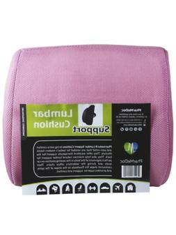Pharmedoc Pink Lumbar Pillow Seat Cushion