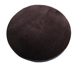Sigmat Plush Round Bar Stool Pad Soft Chair Cushion with Buc