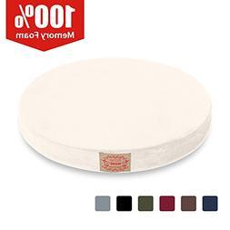 Shinnwa Polyester Supper Soft Cushion Round MemoryFoam Sea