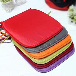 Pongee Colorful Square Cushion Home Car Chair Seat Pad