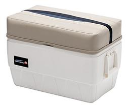 Wise Premier Series 48-Quart Igloo Cooler with Cushion Seat,