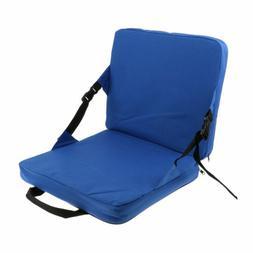 Portable Folding Cushion Chair Wide Stadium Bleacher Seat Li